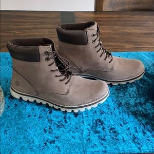 Timberland Brookton Leather Boot NWOB Size 9M